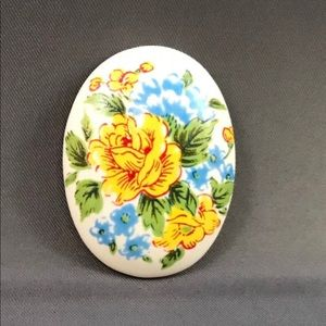 Beautiful Handcrafted Hand-painted Cabochon